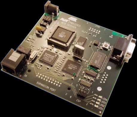 Рисунок 1. Встраиваемый Веб-сервер на микроконтроллере AVR.